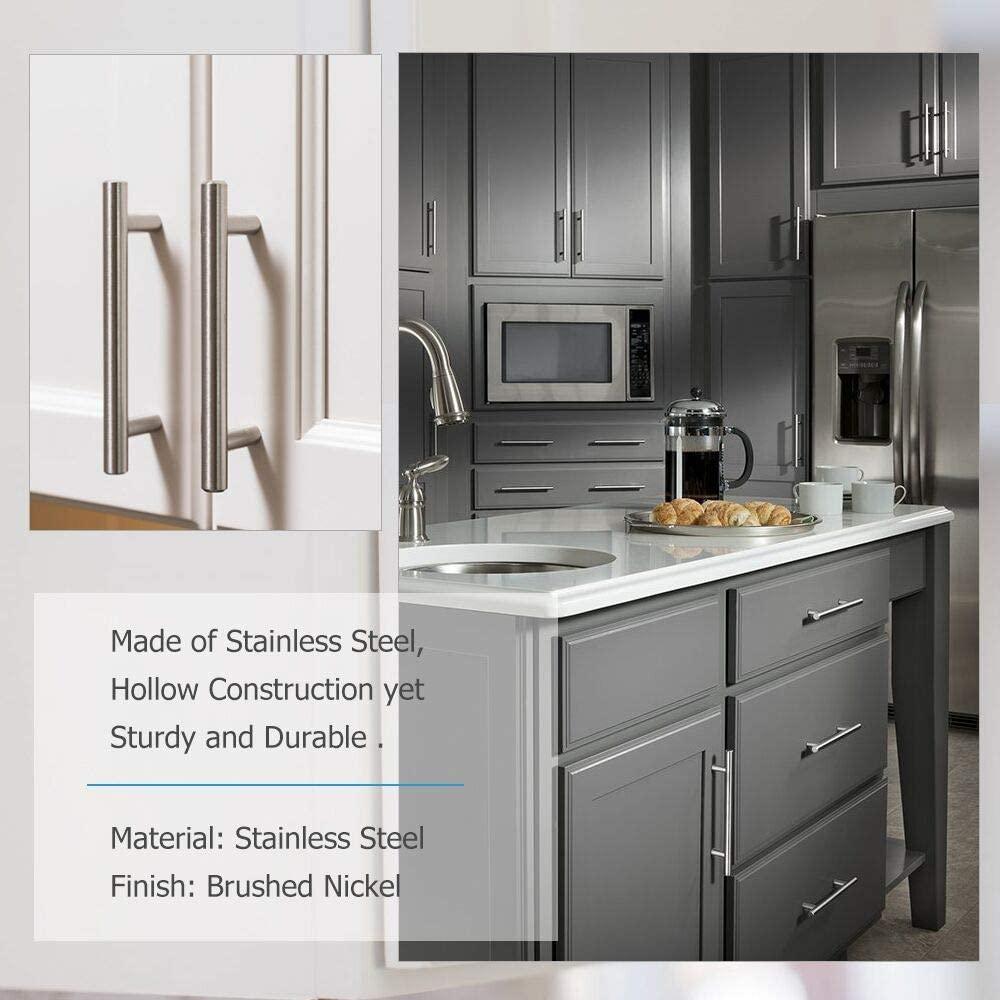 Stainless Steel Kitchen Cabinet Handles Bar Drawer Handle ...