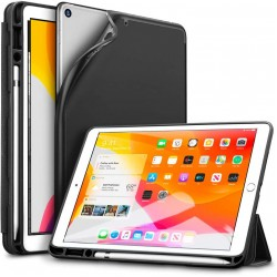 IPad 10.2 2019 7th Pencil Holder Slim Smart TPU Soft Edge Case