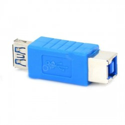 USB 3.0 Female to Printer Interface Female Adapter Extension Joiner Converter