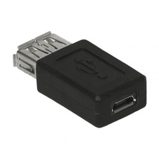 usb female to micro usb female Adapter Converter Joiner