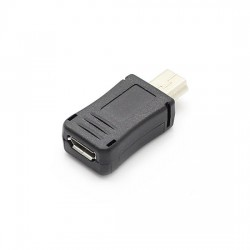 Micro USB Female to Mini 5 Pin USB Male Converter Adapter Charger Plug