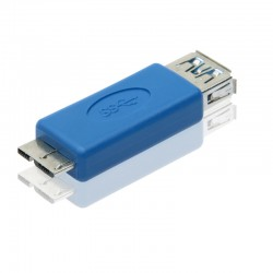 USB 3.0 A Female port to USB3.0 Micro B Male Converter adapter
