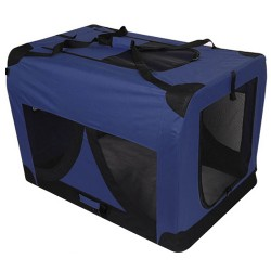 i.Pet Extra Large Portable Soft Pet Carrier- Blue