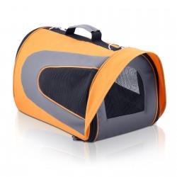i.Pet Extra Large Portable Foldable Pet Carrier - Orange