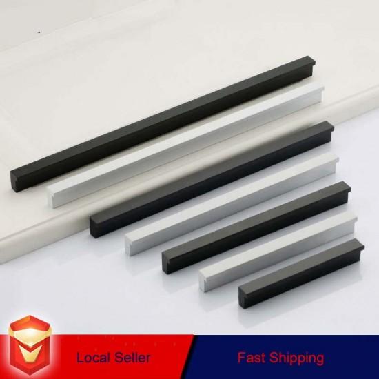 Zinc Kitchen Cabinet Handles Drawer Bar Handle Pull 96mm - 1160mm