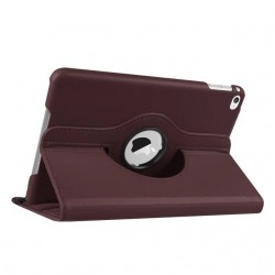 Brown color 360 Rotate Leather Case Cover For Apple iPad 2 3 4  air pro