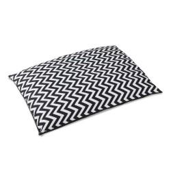 i.Pet Extra Large Canvas Pet Bed - Black & White
