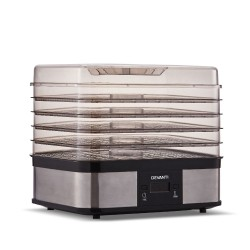 Food Dehydrator with 5 Trays - Silver
