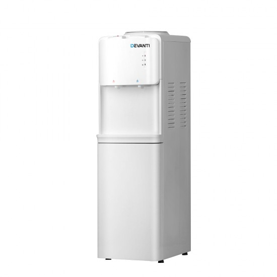 Water Cooler Dispenser Bottle Filter Purifier Hot Cold Taps Free Standing Office