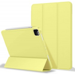 iPad Pro 11 Inch 2020 Soft Tpu Smart Premium Case Auto Sleep Wake Stand Cover Pencil holder Yellow
