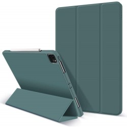 iPad Pro 11 Inch 2020 Soft Tpu Smart Premium Case Auto Sleep Wake Stand Cover Pencil holder Dark Green