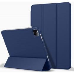 iPad Pro 11 Inch 2020 Soft Tpu Smart Premium Case Auto Sleep Wake Stand Cover Pencil holder navy blue