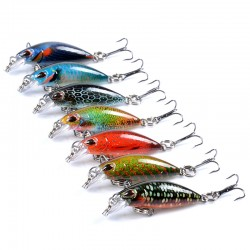 7x Popper Poppers 4.1cmFishing Lure Lures Surface Tackle Fresh Saltwater
