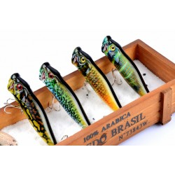 4X 9.5cm Popper Poppers Fishing Lure Lures Surface Tackle Saltwater