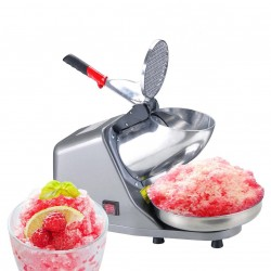 300W Electric Ice Crusher Shaver StainlessSteel Blade Cone Maker Kitchen machine