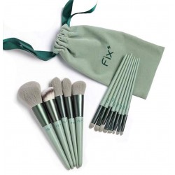 13 Pcs Makeup Brushes Sets Synthetic Foundation Blending Concealer Eye Shadow