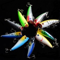 10X 6cm Popper Poppers Fishing Lure Lures Surface Tackle Saltwater