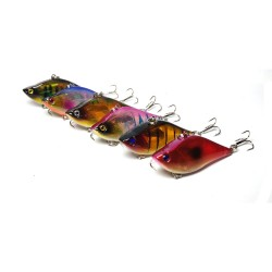 6x 6cm Vib Bait Fishing Lure Lures Hook Tackle Saltwater