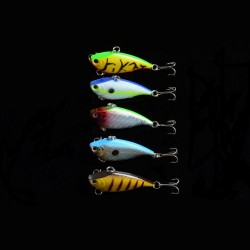 5x 5.5cm Vib Bait Fishing Lure Lures Hook Tackle Saltwater