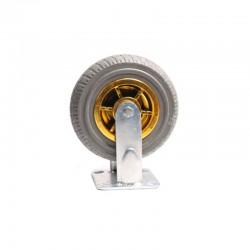 """8"""" Heavy Duty Industrial Fixed Caster Wheel Wheels CastorTrolley holds 250KG"""