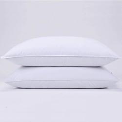 2 Premium Hotel 950g Pillows 74CM x 48CM Pillows Breathable Cotton