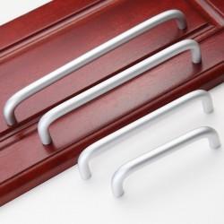 Aluminium Kitchen Cabinet Handles Drawer Bar Handle Pull 96mm128mm 160mm 192mm