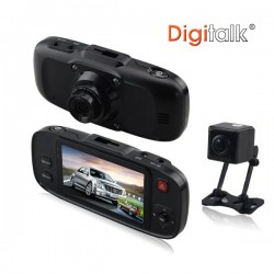 Dual Camera In-Car Digital Video Recorder (DVR)