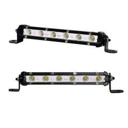 Pair 7inch Super Slim 30W CREE LED Light Bar Flood Work OFFROAD Driving Lamp ATV 4WD