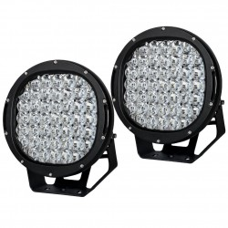 9 inch 225W CREE ROUND LED SPOT Driving Lights Off Road Spotlights BLACK