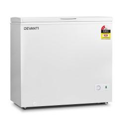 200L Chest Freezer - White