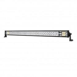 42inch Osram Philips LED Light Bar 5D Triple Flood Spot Offroad Driving 4WD 4x4