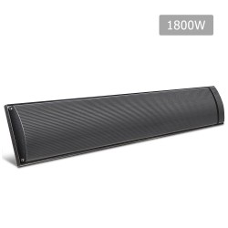 1800W Electric Heater Panel - Black