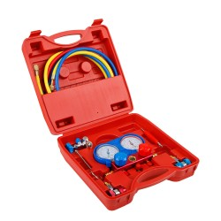 Air Conditioning Manifold Gauge System Testing Meter Hose Set
