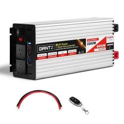 Giantz 3300W Puresine Wave DC-AC Power Inverter
