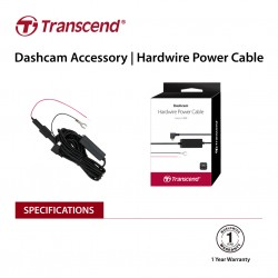 TRANSCEND TS-DPK2 Dashcam hardwire kit for DrivePro, Micro-B (For DP230 / DP130 / DP110)