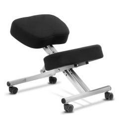 Adjustable Kneeling Chair - Silver