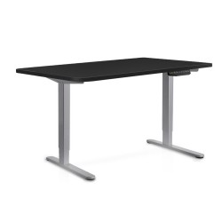 100cm Adjustable Frame Standing Desk - Black