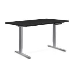 140cm Adjustable Frame Standing Desk - Black