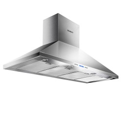 1500mm Commercial BBQ Rangehood - Silver