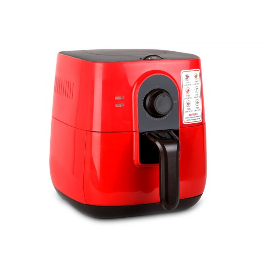 3L Oi Free Air Fryer - Red