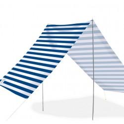 Good Vibes Summer Beach Tent Navy Stripe 148x370cm