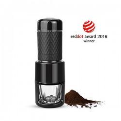 STARESSO Coffee Maker Red Dot Award Winner Portable Espresso Cappuccino Quick Cold Brew Manual Coffee Maker Machines All in One - Black