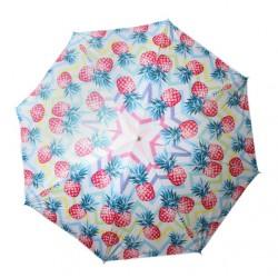 Beach Umbrella 180cm Pineapple Design
