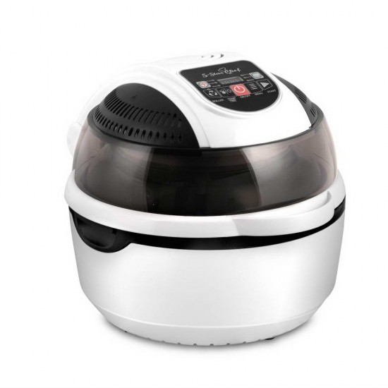 10L 6 Function Convection Oven Cooker Air Fryer- White