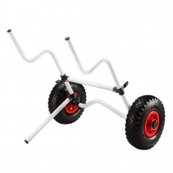 Kayak Trolley Foldable Canoe Aluminum Collapsible Wheel Cart Boat 100KG