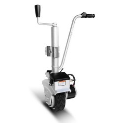 Giantz Motorised Jockey Wheel With Lock Mover Trailer Boat Caravan - Silver