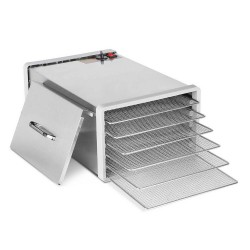 Stainless Steel Food Dehydrator with 6 Trays