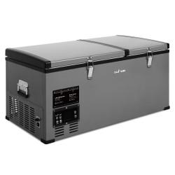 Glacio 85L Portable Fridge & Freezer - Black