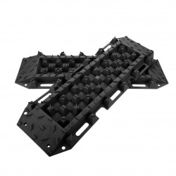 10T Heavy Duty Recovery Tracks Sand Track Snow Mud Tracks 10T Vehicle Black 4WD