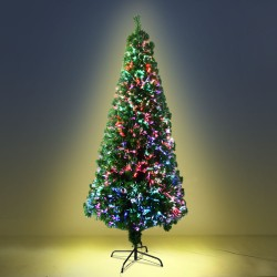 Jingle Jollys 1.8M 6FT LED Christmas Tree Multi Colour
